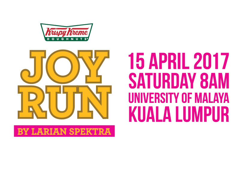 Come and join us in Joy Run - 15 April 2017 in University of Malaya