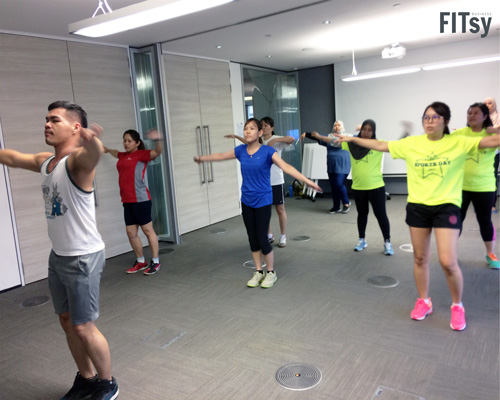 FITsy - Corporate Classes