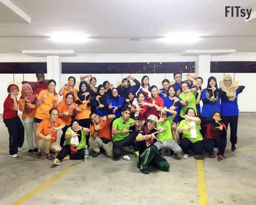 FITsy - Team Building