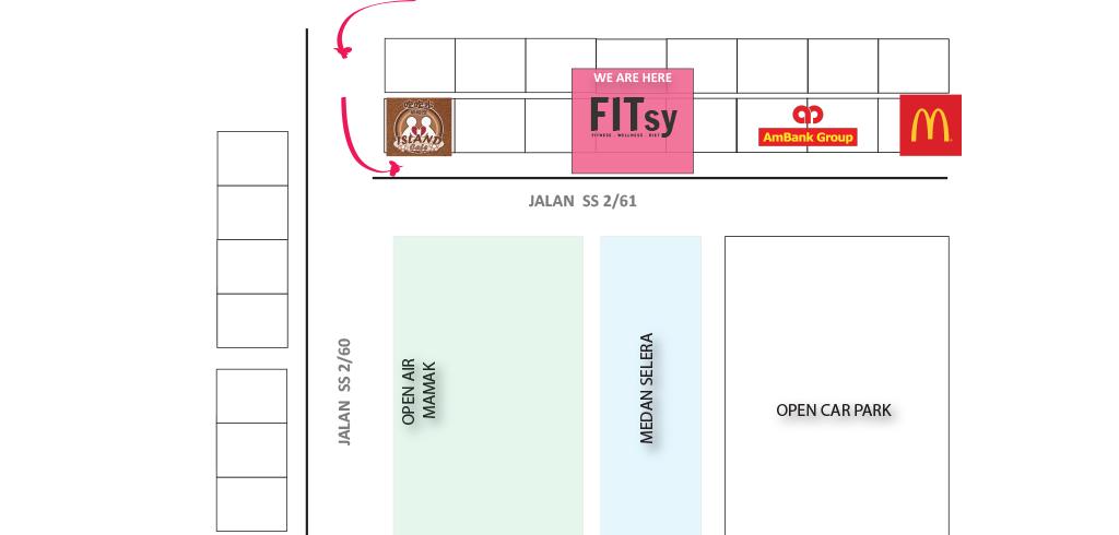 FITsy SS2 - Petaling Jaya