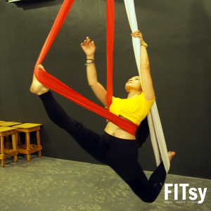 Aerial Double Hammock flow workshop
